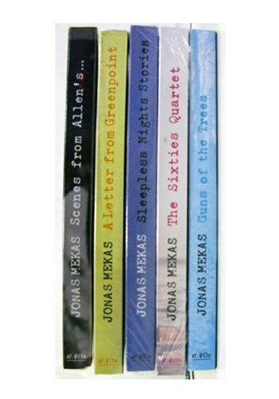 Buy Works of Jonas Mekas Vol II, The: Scenes from Allen's ...,  A Letter from Greenpoint,: The Sixties Quartet, Guns of the Trees, Sleepless Nights Stories