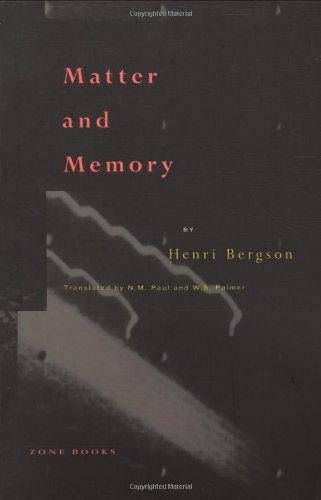 Buy Matter and Memory