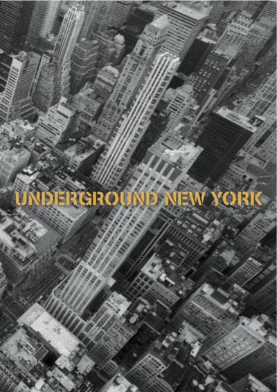 Buy Underground New York