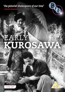Buy Early Kurosawa (Sanshiro Sugato, Sanshiro Sugato part two, The Most Beautiful, They Who Step on the Tiger's Tail) (4-DVD set)