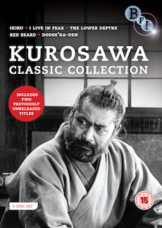Buy Kurosawa Classic Collection (5-DVD set)
