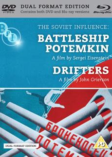 Buy Soviet Influence: Volume Two: Battleship Potemkin + Drifters, The (Dual Format Edition) (BFI Top 50 - Battleship Potemkin) (=11)