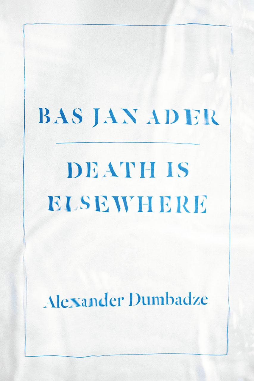 Buy Bas Jan Ader: Death is Elsewhere