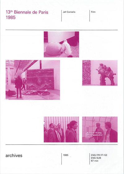 Buy Biennale de Paris 1985