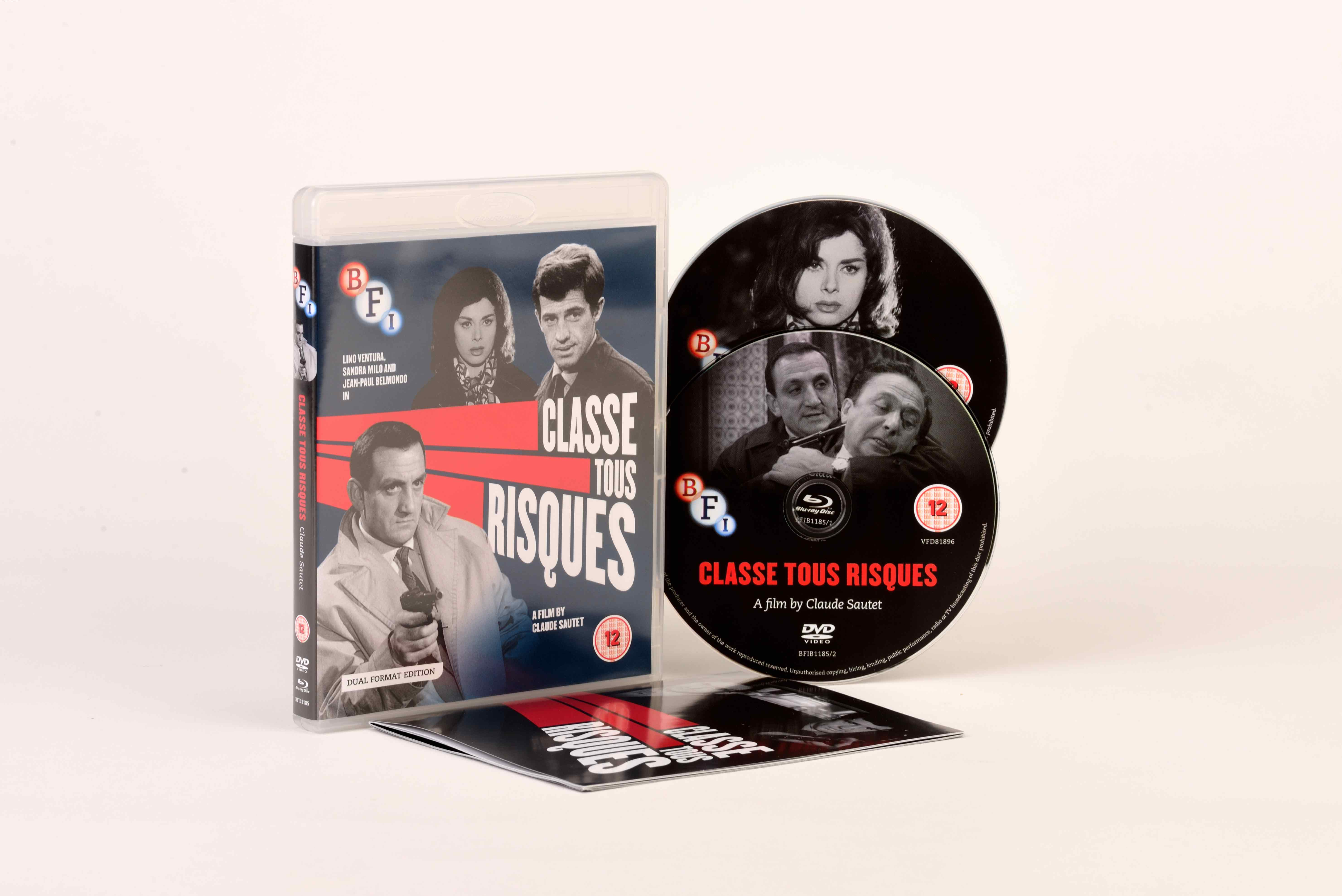 Buy Classe tous risques (Dual Format Edition)
