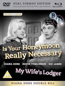 Is Your Honeymoon Really Necessary? + My Wife's Lodger (Dual Format Edition)