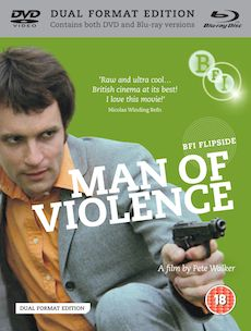 Man of Violence Dual Format Edition