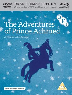 The Adventures of Prince Achmed (Dual Format Edition)