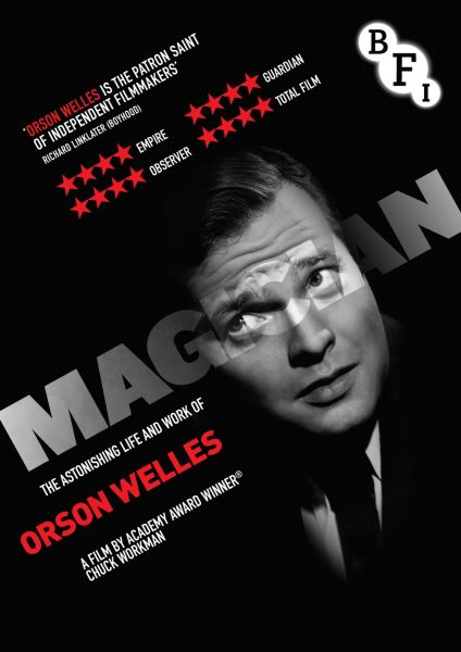 Magician: The Astonishing Life and Work of Orson Welles DVD cover image