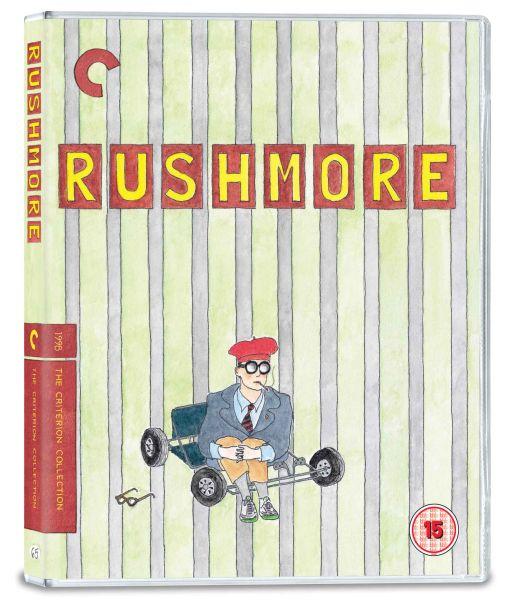 Rushmore Blu-ray pack shot