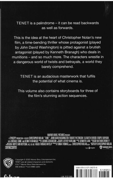 Tenet - The Complete Screenplay