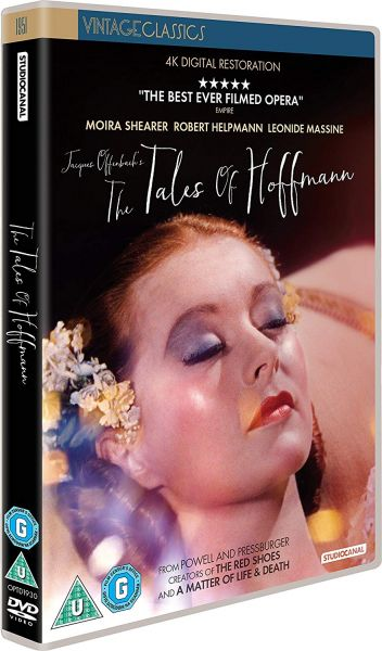 The Tales of Hoffmann DVD pack shot