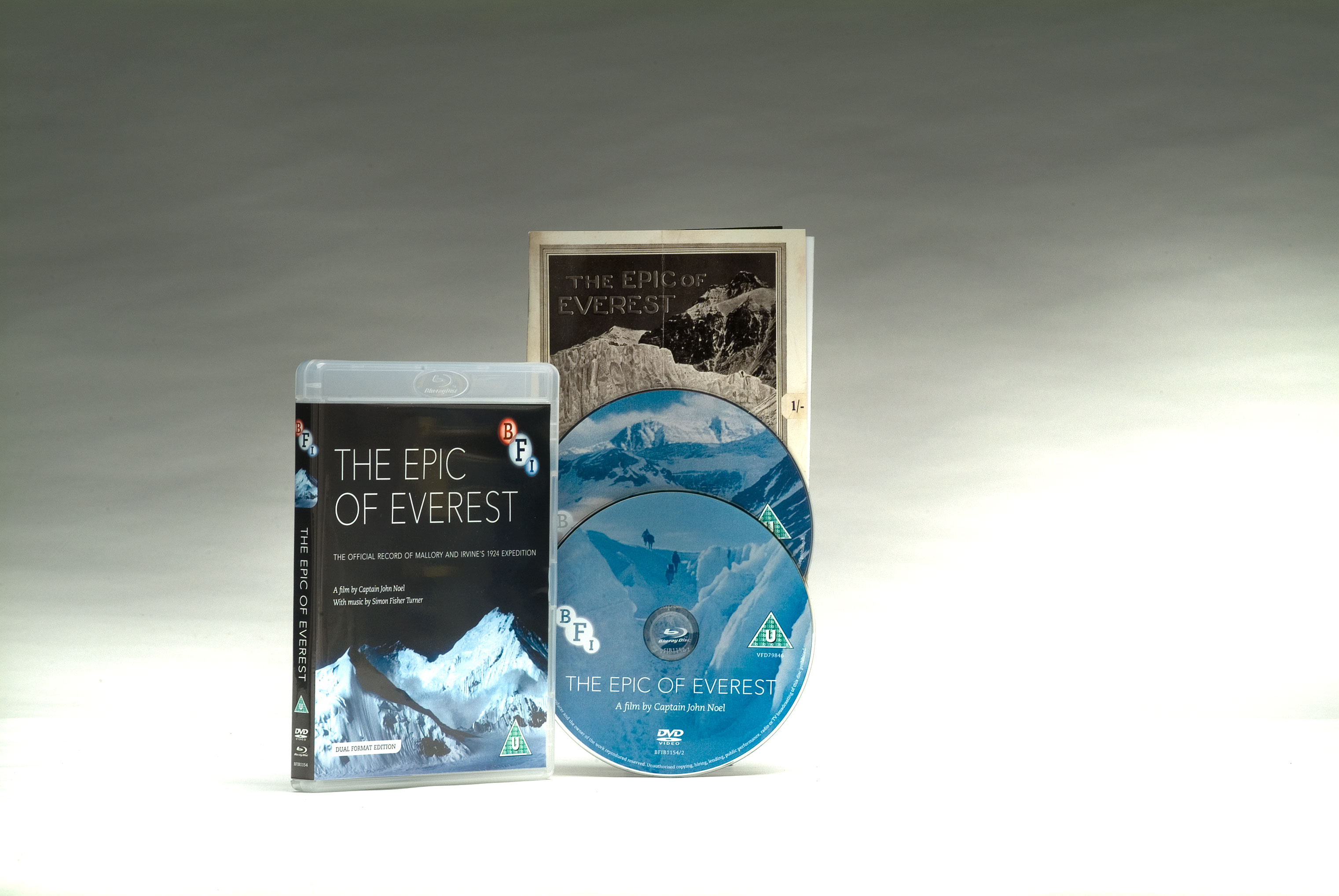 Buy Epic of Everest, The (Dual Format Edition)