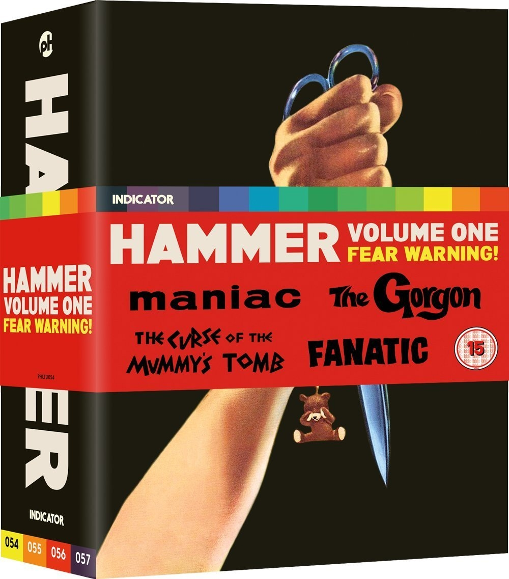 Buy Hammer: Volume One - Fear Warning! (Limited Edition Blu-ray set)