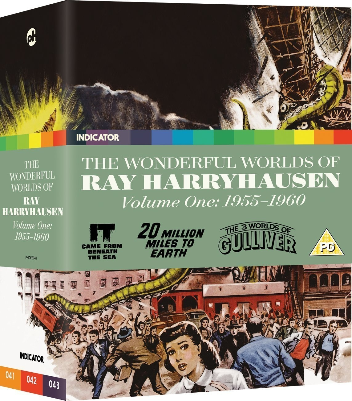 Buy The Wonderful Worlds of Ray Harryhausen: Volume One - 1955-1960