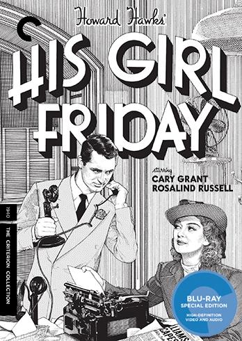 Buy His Girl Friday (BLU-RAY)