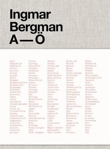 Buy Ingmar Bergman A-Ö