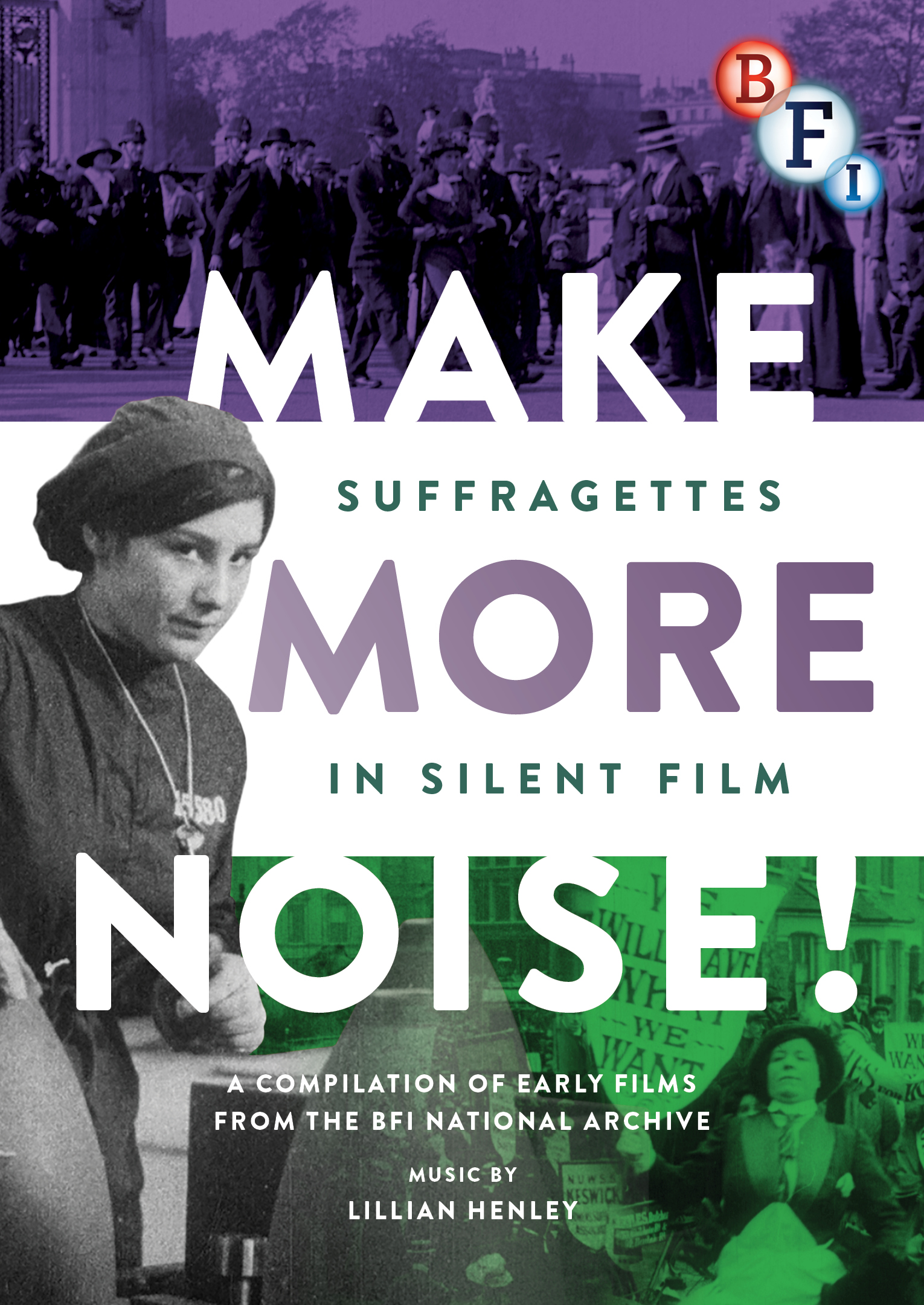 Buy Make More Noise: Suffragettes in Silent Film