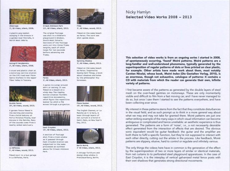 Buy Selected Video Works 2008 - 2013
