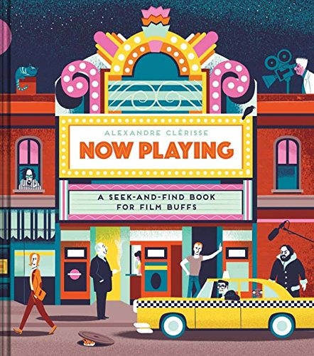 Buy Now Playing: A Seek-and-Find Book for Film Buffs