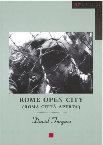 Buy Rome Open City (BFI Film Classic)