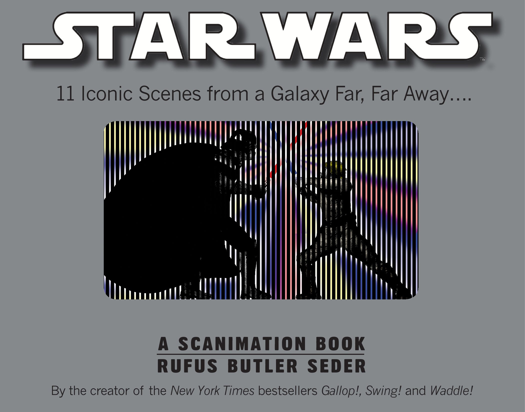 Buy Star Wars: A Scanimation Book
