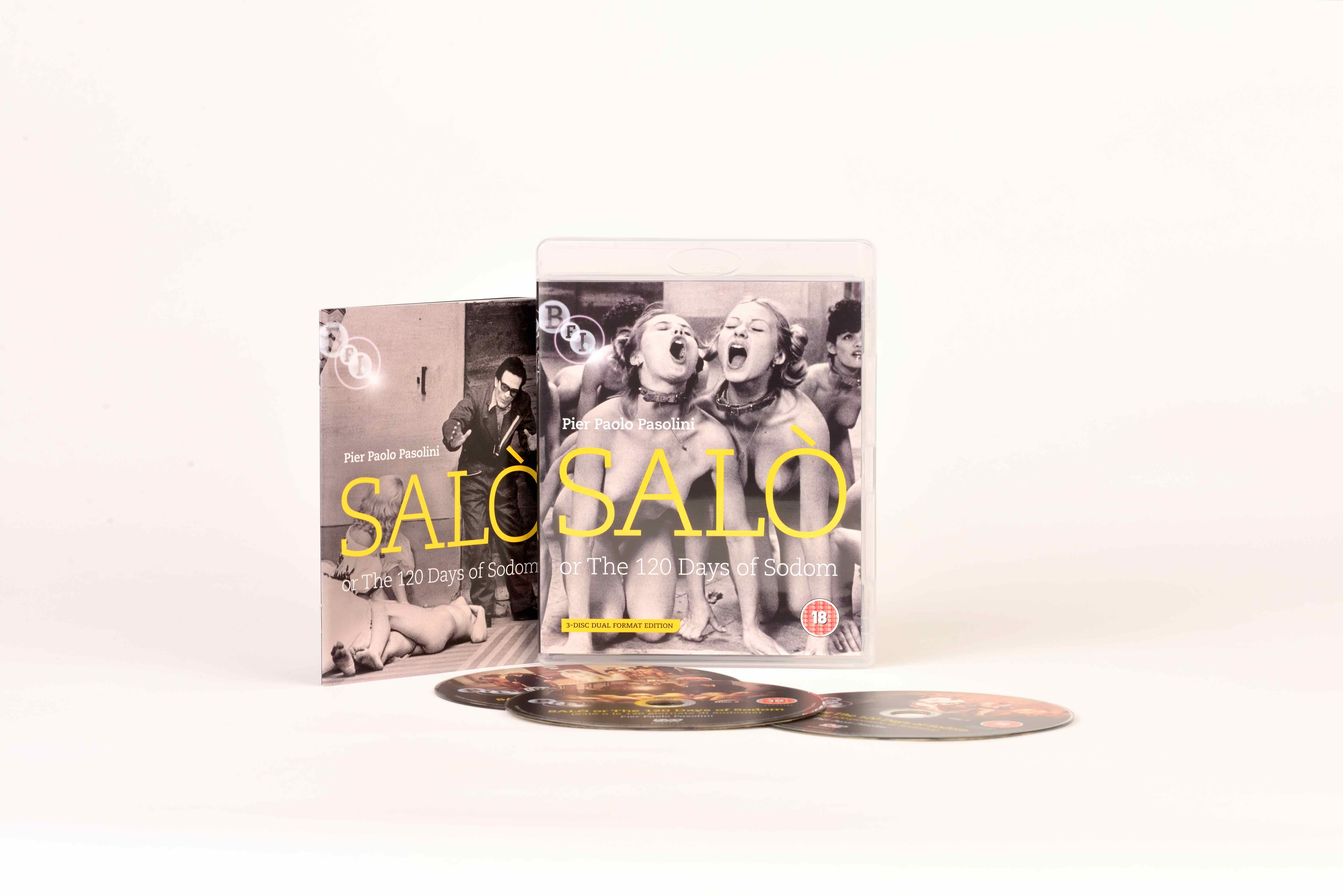 Buy Salo, or The 120 Days of Sodom (2-Disc Dual Format Edition)