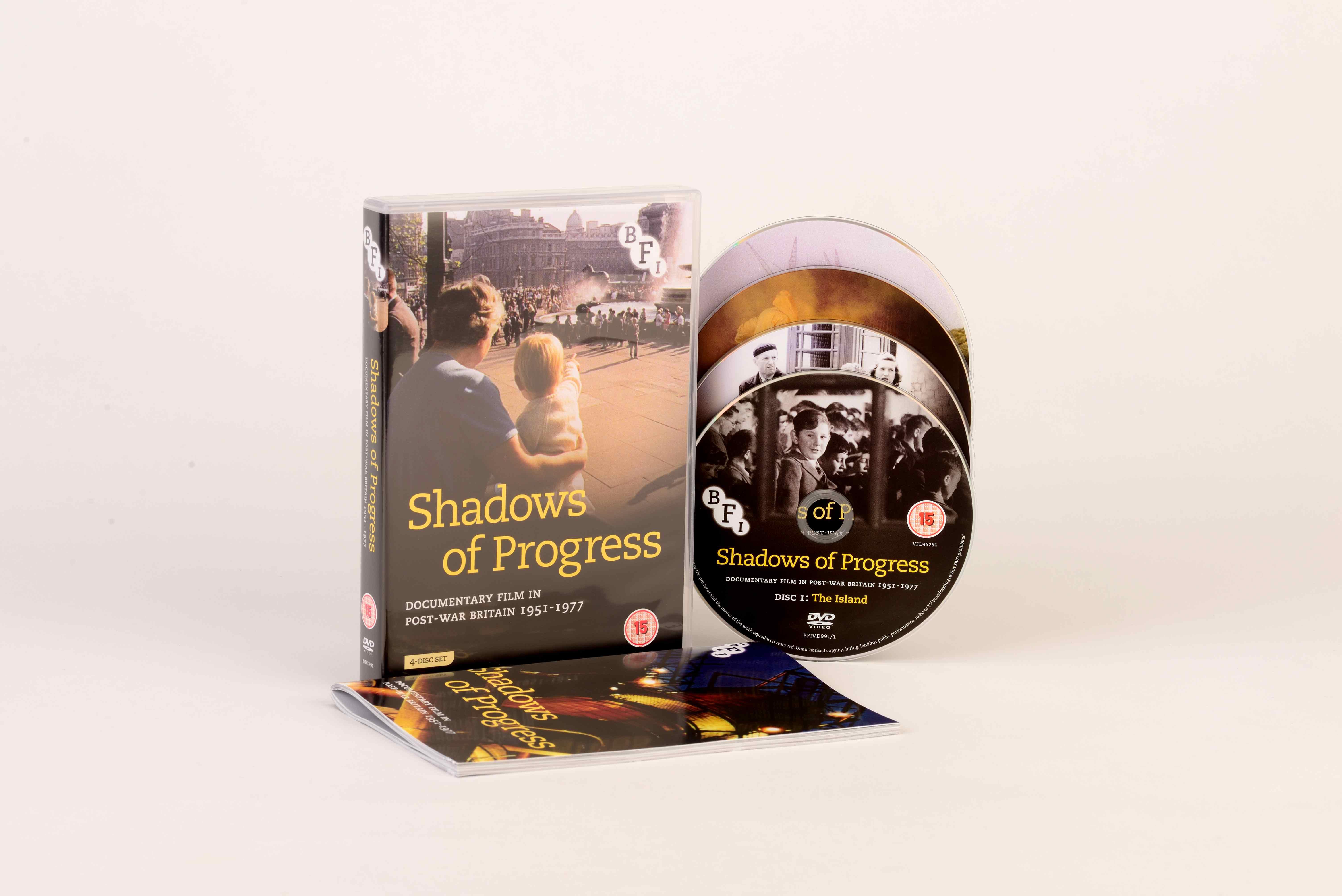Buy Shadows of Progress (4-DVD set)